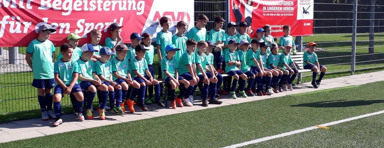 Erfolgreiches Fußballcamp mit der Hans Dorfner Fußballschule